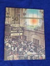 WWVA COUNTRY RADIO 50 YEARS OF BROADCASTING PICTURE BOOK 1976 WHEELING WEST VA