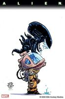 ALIEN #1 YOUNG VARIANT COVER MARVEL COMICS 2021
