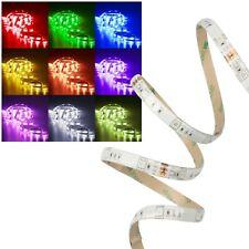 1m RGB 5050 SMD LED Stripe IP44 Strip Licht-Streifen-Band Multicoloured 12V IP44