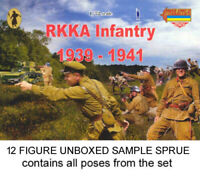 STRELETS M031 Russian RKKA INFANTRY 1939-1941 1/72 Model Kit - 1 SPRUE 12 figs