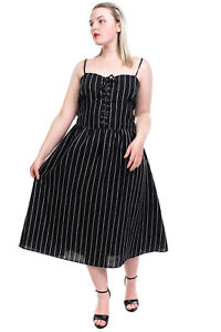 RRP €220 REFORMATION Linen Midi A-Line Dress Size 20 3XL Lace Up Made in USA