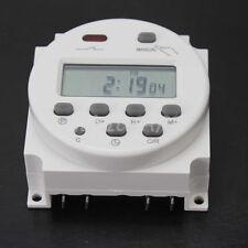Interruttore Relé Digitale Timer Programmabile Temporizzatore Switch DC 12V