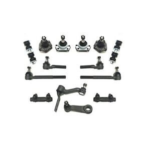 14 Pc Front Kit LH RH Tie Rod Ball Joint Sway Bar for Chevrolet GMC Isuzu Olds