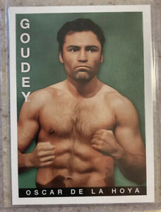 2015 Upper Deck Goodwin Champions Oscar De La Hoya 🥊Goudey Boxing card #27