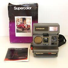 Polaroid  supercolor 670 deluxe - Etat de fonctionnement  - Mode d'emploi