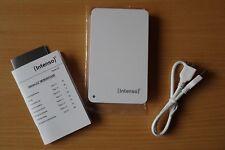 """Externe Festplatte HD USB 2,5"""" 1 TB Intenso Memory Case USB 3.0 Festplatte – wei"""