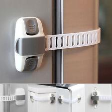 Adjustable Fridge Guard Baby Safety Refrigerator Cabinet Drawer Door Latch Locks