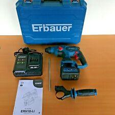 Erbauer ERH18-Li  18V  Li-Ion EXT Brushless Cordless SDS Plus Hammer Drill *KIT*