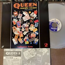 QUEEN Magic Years vol.2 JAPAN Laser Disc LD L050-1113 w/INSERT sticky edge FreeS