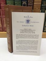 Easton Press Presidents ~ Chester A. Arthur ~ George Frederick Howe ~ w/ Notes