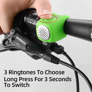 3 Molde Voices Mini Bike Bell Cycling RockBros Electric Bells Horns Rainproof UK