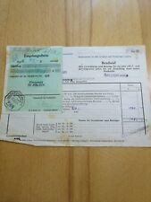 Grundsteuerbescheid Herzogenburg 1951/52