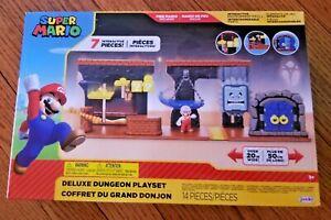 World of Nintendo Super Mario DELUXE Dungeon Playset
