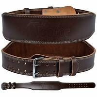 Weight Lifting Belt for Fitness Gym - Leather Belt