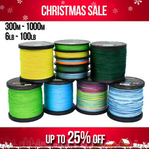 Braid Fishing Line 8 10 12 15 20lb 30lb 40lb 50lb 65 80lb 100lb 300m 500m 1000m