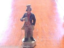 Vintage Italian Bisque Capo-Di-Monte Bill Sikes Figurine Statue