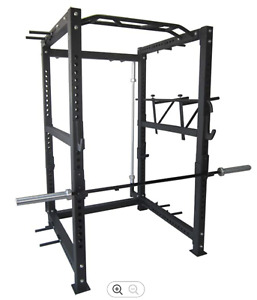 Full Commercial Power rack - New - In UK Stock NOW - ( Squat Rack) Weights