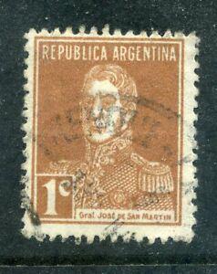 Argentina 1923 1c buff used