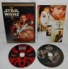 Star Wars Episode I: The Phantom Menace (DVD, 2005, 2-Disc Set, Widescreen)