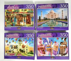 Lot of 3- NEW 350-300Piece Jigsaw Puzzles Picked At Random *SUPER FAST SHIPPING!