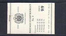 SAMOA 1960 booklet SG SB6a VF