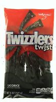 Twizzlers Black Licorice Twists 5oz American Candy Chewy Sweets Free Shipping