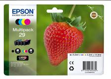 Epson Multipack 29 fragola ORIGINALE conf.4cartucce C13T29864012 NUOVO CLARIA