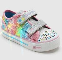 Toddler Girls' S Sport By Skechers Skyla Light-Up Sneakers - Pink Size 13