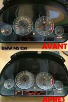 Réparation affichage compteur BMW M5 e39