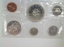 1964 Royal Canadian Mint Proof-Like 6 coin set, 80% silver,