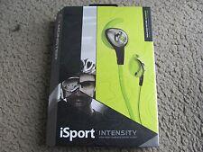 Monster iSport Intensity High Performance Sport Audio In-Ear Headphones Green