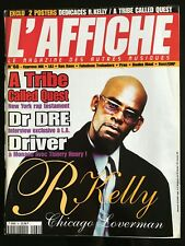 L'AFFICHE n°60; R-Kelly/ Dr Dree/ A tribe Called Quest/ Driver/ Cypress Hill