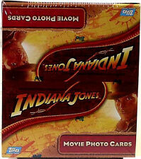 Indiana Jones Crystal Skull Movie Topps Hobby Card Box New from 2008