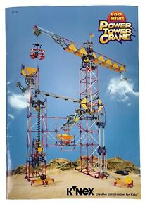K'nex KNEX Lost Mines Power Tower Crane 63149 Manual Instructions Book ONLY 1998