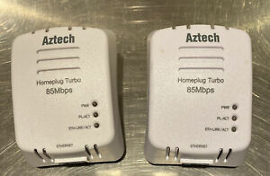 AZTECH HomePlug Turbo 85Mbps HL105E Network Extension