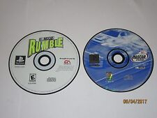 Playstation 1 - Lot Of 2 NASCAR Games - Disc Only