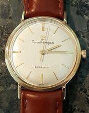 Beautiful Girard Perregaux gyromatic watch 10k gold filled working nice