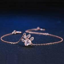 Fashion Jewelry Cat Dog Paw Claw Print Bracelet Lovely Animal Bracelet for Women