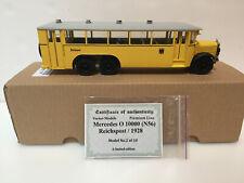 1/43 City postal bus 1928 Mercedes Benz N56 LE Handmade
