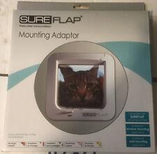 SureFlap Cat/Pet Door Mounting Adaptor/Adapter White