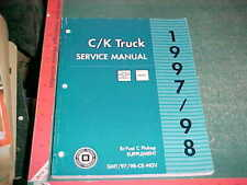 1998 1997 Chevy GMC BI-FUEL COMPRESSED NATURAL GAS C-SERIES PU MANUAL SUPPLEMENT