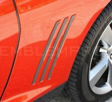 2010-2014 CAMARO Fender Gill Side Louver Trim Inserts Ver1 Colored Comp.