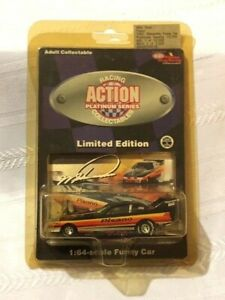 NHRA Diecast 1/64 scale MIKE DUNN Pisano 1992 Oldsmobile Funny Car ACTION RACING