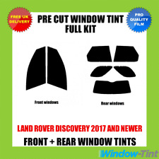 LAND ROVER DISCOVERY 2017+ FULL PRE CUT WINDOW TINT