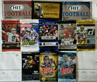 2013-2019 11 Factory sealed pack NFL Football Special - see details inside