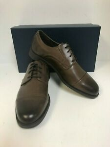 Cole Haan Men's C24042 Dustin Cap Oxford Brown Leather Size 8.5M