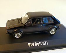 VW GOLF 1 GTI 1976 , negro, NOREV 1:43