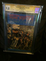 Teenage Mutant Ninja Turtles 35 CGC 9.8 NM/MINT WP KEVIN EASTMAN SIG!