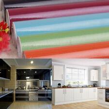 yazi Self-adhesive Wall Kitchen Cupboard Door Cover Waterproof Oil Proof Vinyl