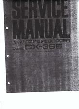 Akai Service Manual für GX- 365 D englisch Copy